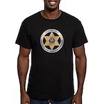 Florida Game Warden Men's Fitted T-Shirt (dark)