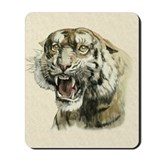 Snarling Tiger Mousepad