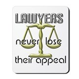 Lawyers Appeal Mousepad