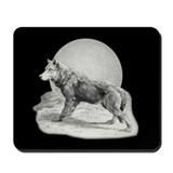 Wolf Moon Mousepad