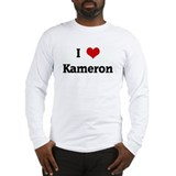 I Love Kameron Long Sleeve T-Shirt