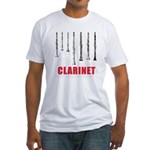 Clarinet Fitted T-Shirt