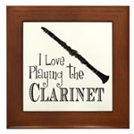 Clarinet Framed Tile
