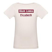 Mom Loves Elizabeth Tee