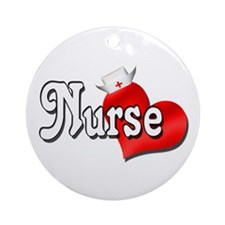 Nurse Ornament (Round)
