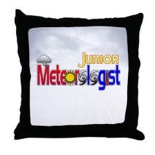 Junior Meteorologist Throw Pillow