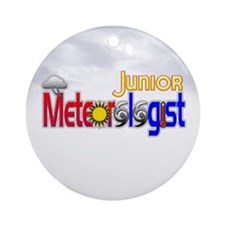 Junior Meteorologist Ornament (Round)