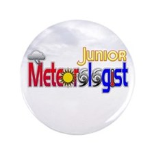"Junior Meteorologist 3.5"" Button"
