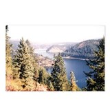 Lake Coeur d'Alene Idaho Postcards (Package of 8)