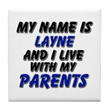 my name is layne and I live with my parents Tile C