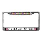 Scrapbooker License Frame Gift