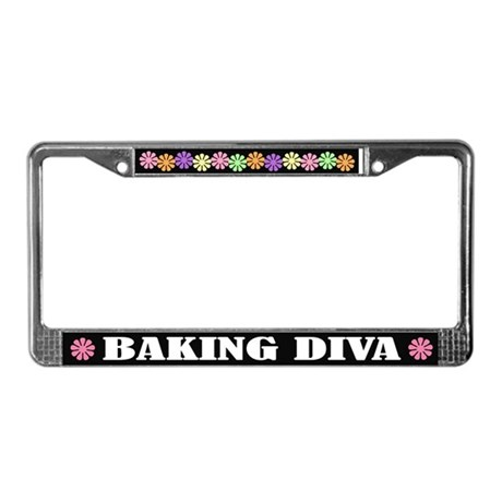 Baking Diva License Plate Frame