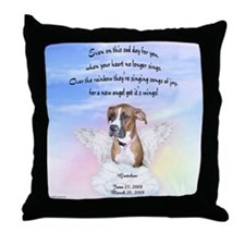 Gretchen Rainbow Throw Pillow