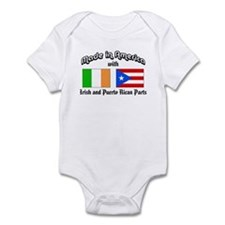 Irish-Puerto Rican Infant Bodysuit