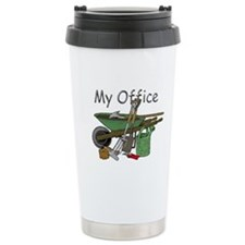 Garden Tool Ceramic Travel Mug