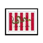 Sons of Liberty Framed Panel Print