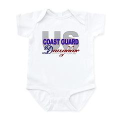 US Coast Guard Daughter Infant Creeper