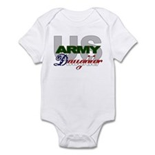US Army Daughter Infant Creeper