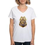 B.I.A. Special Agent Women's V-Neck T-Shirt