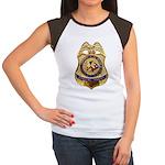 B.I.A. Special Agent Women's Cap Sleeve T-Shirt