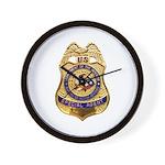 B.I.A. Special Agent Wall Clock