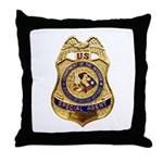B.I.A. Special Agent Throw Pillow