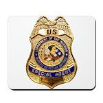 B.I.A. Special Agent Mousepad