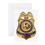 B.I.A. Special Agent Greeting Cards (Pk of 10)