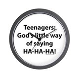 Cute Funny sayings Wall Clock
