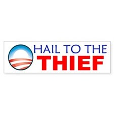 Hail to the Thief Bumper Sticker (50 pk)