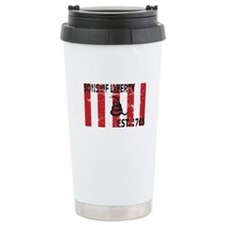 Sons of Liberty Est. 1765 w/S Ceramic Travel Mug