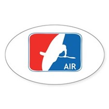 Kayak Air Oval Decal
