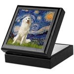 Starry Night / Pyrenees Keepsake Box