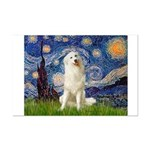 Starry Night / Pyrenees Mini Poster Print