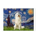 Starry Night / Pyrenees Postcards (Package of 8)