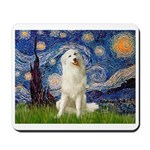 Starry Night / Pyrenees Mousepad