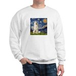 Starry Night / Pyrenees Sweatshirt