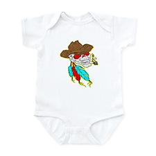 Cowboy Skull #1023 Infant Bodysuit