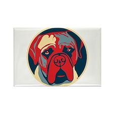 Vote Mastiff! - Rectangle Magnet