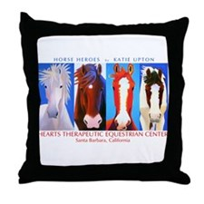 Funny Horse Throw Pillow