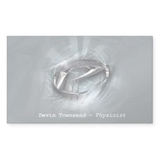Physicist Rectangle Decal