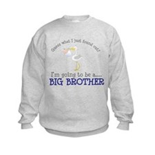 big brother to be stork shirt Sweatshirt