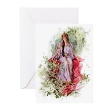 Lady of The Forest Greeting Cards (Pk of 10)