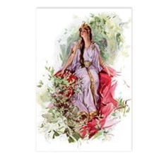 Lady of The Forest Postcards (Package of 8)