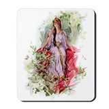 Lady of The Forest Mousepad