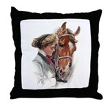 Favorite Horse Throw Pillow