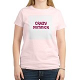 CRAZY DOMNICK Women's Pink T-Shirt