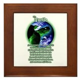 &quot;The Turtle&quot; Framed Tile