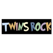 Twins Rock - Bumper Bumper Sticker