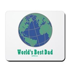 World's Best Dad Mousepad